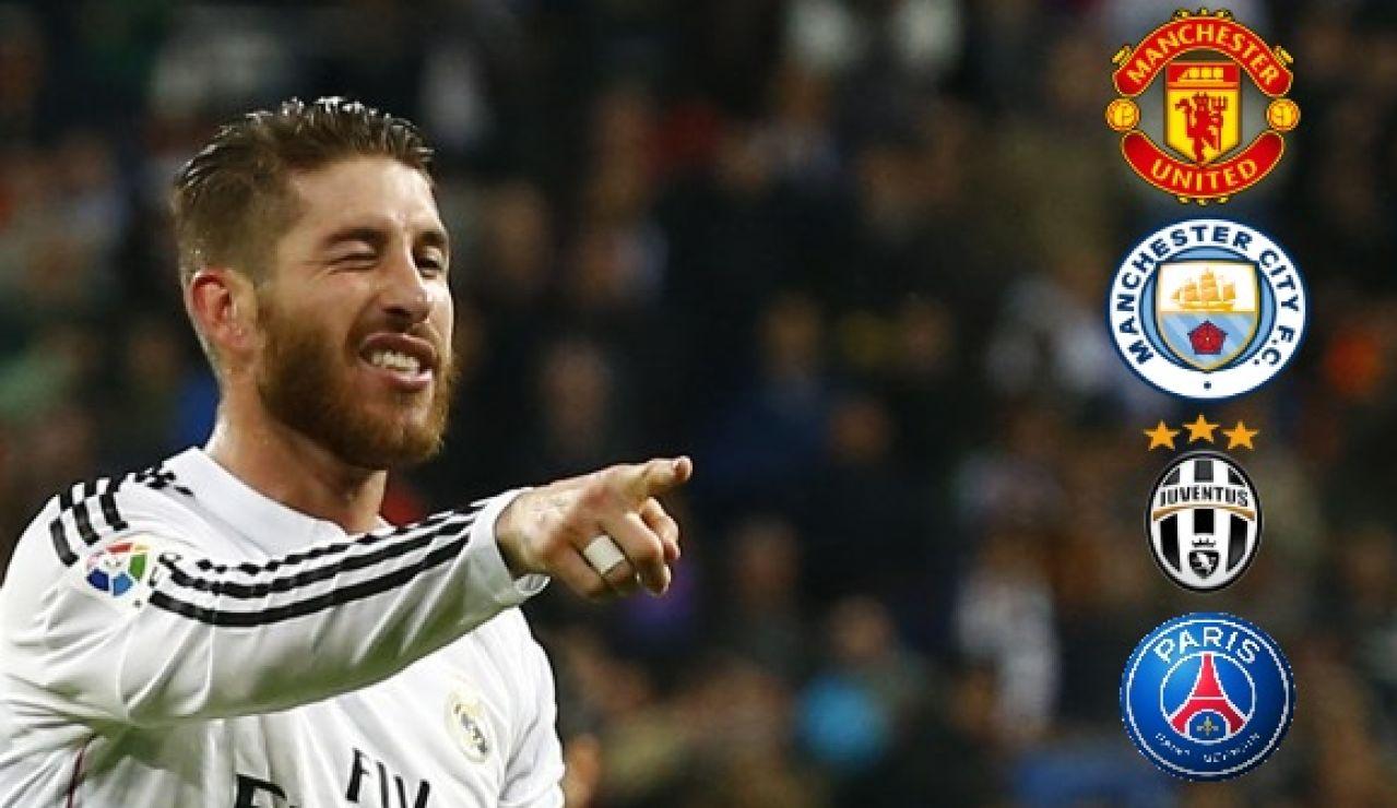 ¿A qué equipo se va Sergio Ramos? Los posibles destinos tras su salida del Real Madrid