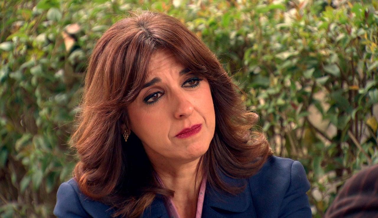 Socorro, desplazada por Miriam, renuncia a su relación con Eduardo