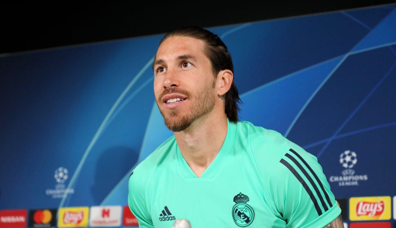 Despedida de Sergio Ramos del Real Madrid y rueda de prensa, streaming en directo