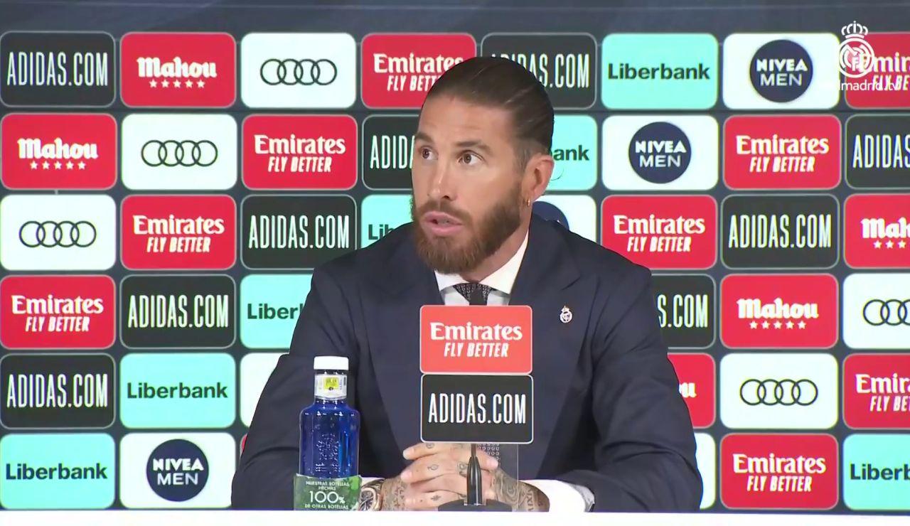 """Ramos dice que el Madrid no le ha dejado renovar: """"Cuando acepto la bajada de salario me dicen que ya no hay oferta"""""""