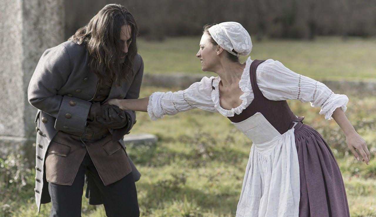 Clara asesina a Enrique para salvar la vida de Diego de Castamar