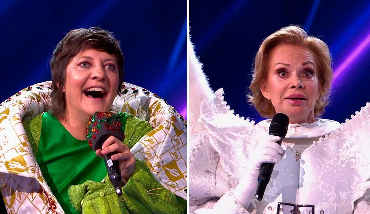 ¡Paloma San Basilio y Eva Hache en 'Mask Singer'! Así ha sido el doble desenmascaramiento