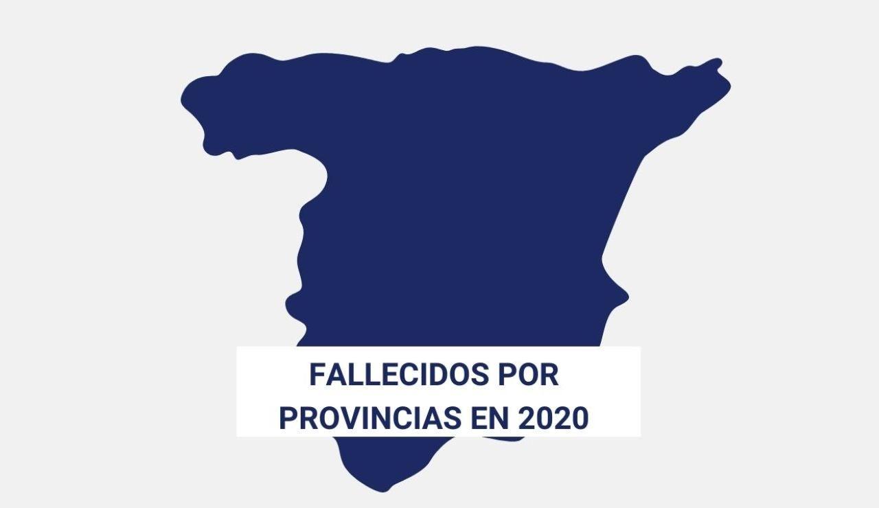 Fallecidos provincias