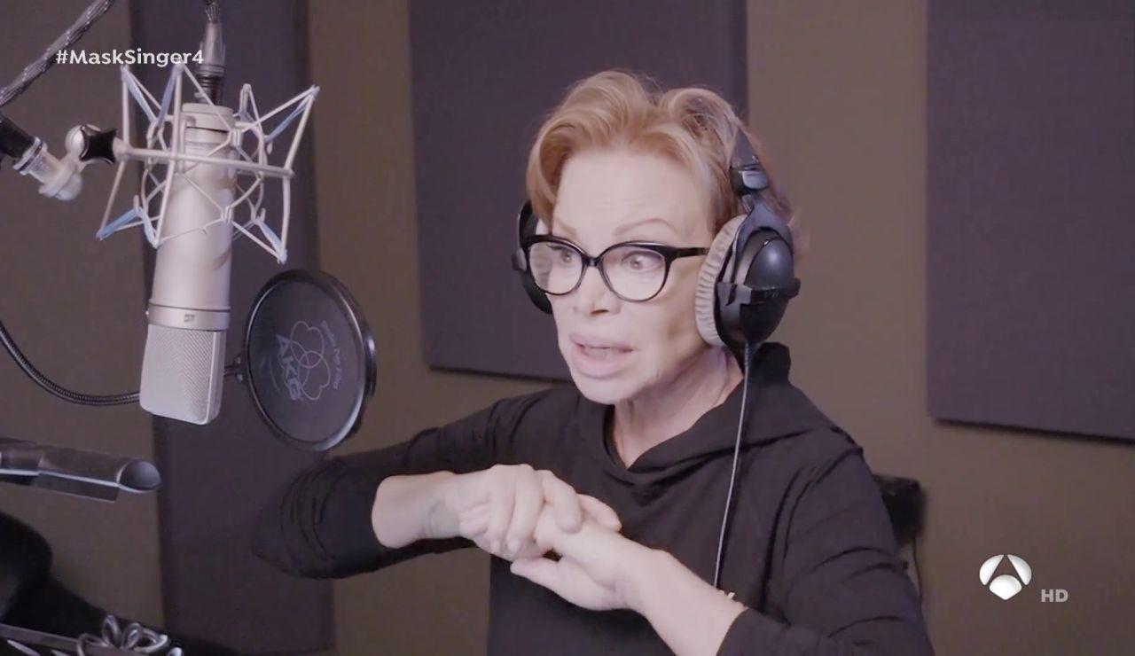"""Así escondió su voz Paloma San Basilio para 'Mask Singer': """"No me reconozco ni yo"""""""