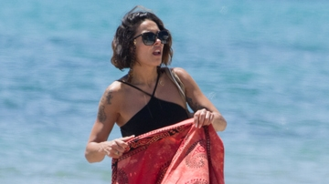 Lorena Castell, en Ibiza