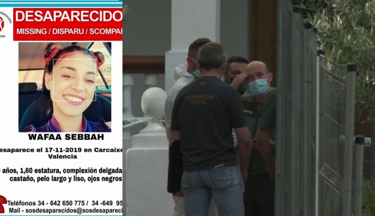 La Guardia Civil traslada al detenido por la desaparición de Wafaa Sebbah a hacer unos registros