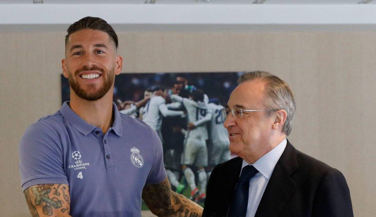 Horario y dónde ver la despedida de Sergio Ramos del Real Madrid y la rueda de prensa en directo