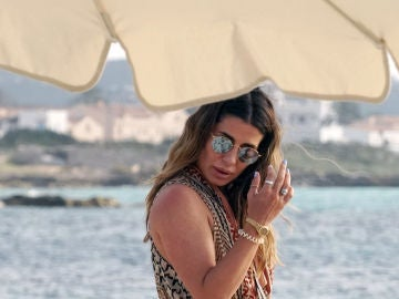 Elena Tablada, en Formentera