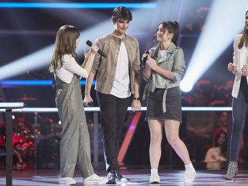 Melendi se queda con Alejandro Gutiérrez en las Batallas de 'La Voz Kids'