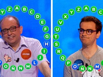 Pablo se arrepiente y Javier recurre al humor en un rosco marcado por la diferencia de segundos