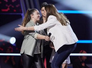 David Bisbal elige a Rocío Avilés para continuar en 'La Voz Kids'