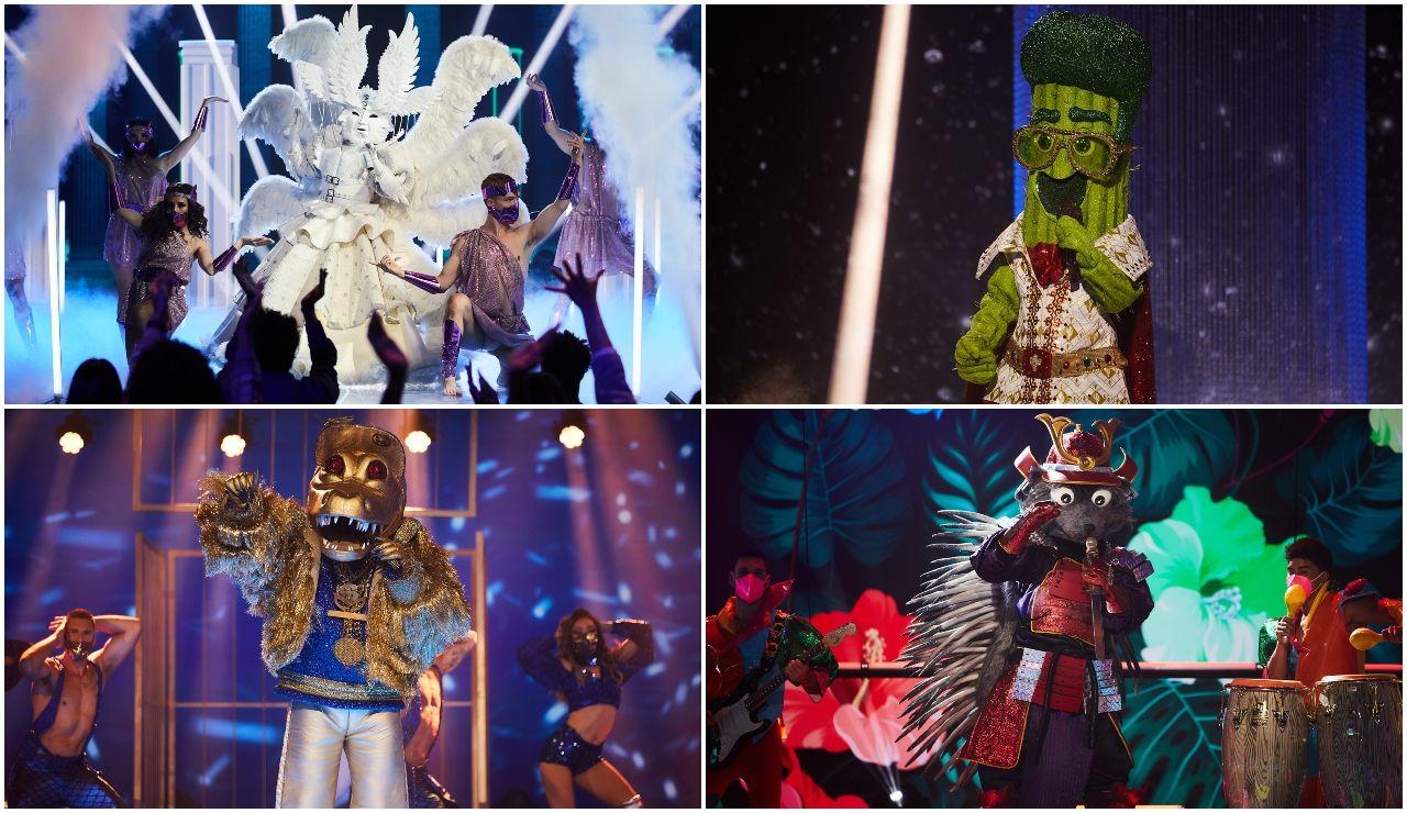 ¡Vota por tu actuación favorita de la cuarta gala de 'Mask Singer'!