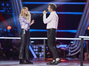 David Bisbal canta 'Abriré la puerta' con Lucía Casani en las Batallas de 'La Voz Kids'
