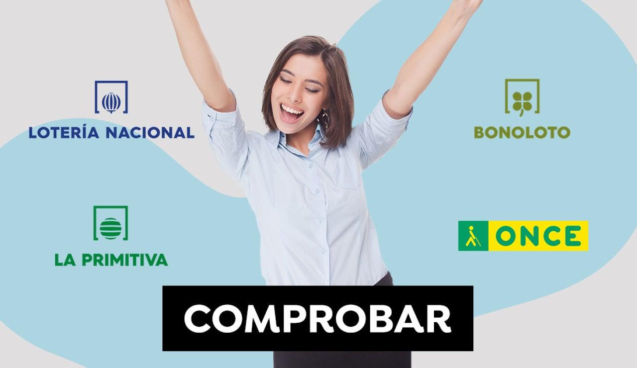 Comprobar Lotería Nacional, La Primitiva, ONCE y Bonoloto: Resultados del jueves 17 de junio