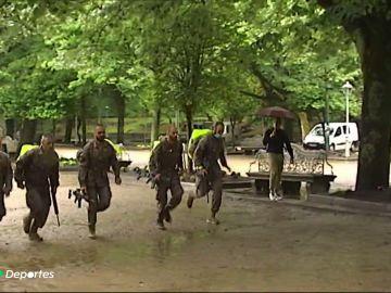 La exigente aventura de 120 kilómetros de varias patrullas militares con fin en Santiago