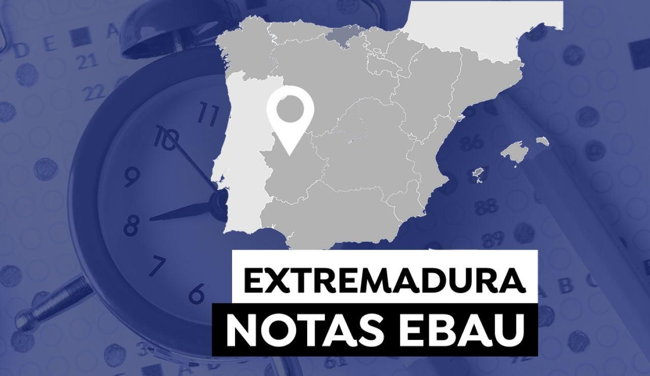 Notas  Evau Extremadura 2021: Consultar los resultados de selectividad
