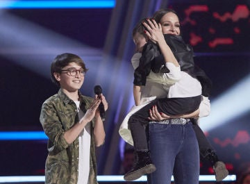 Melendi elige a Jesús del Río para continuar en 'La Voz Kids'