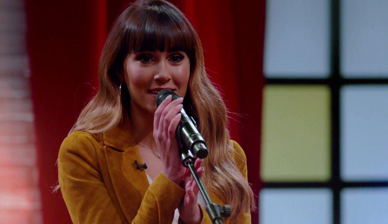Aitana provoca las lágrimas de los talents cantando 'Vas a quedarte'