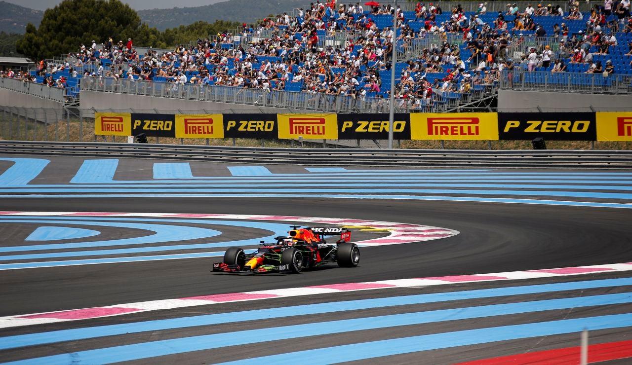 Verstappen bate a Hamilton en la clasificación del GP de Francia con Sainz 5º y Alonso 9º