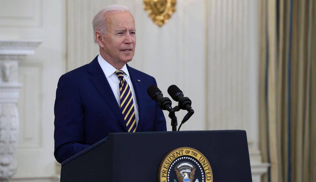 El presidente Joe Biden da detalles sobre la gestión contra la covid-19, desde la Casa Blanca