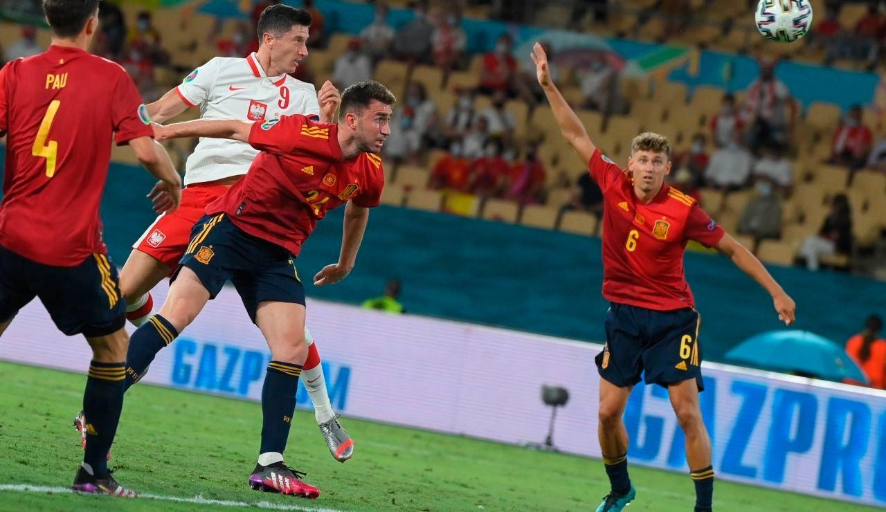 España vuelve a pinchar ante Polonia y se jugará la clasificación ante Eslovaquia