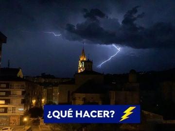 ¿Qué hacer en caso de tormenta?