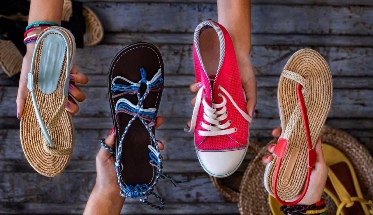 Las sandalias que vienen pisando fuerte este verano: Cristina Pedroche, Paula Echevarría y Sara Carbonero ya las lucen