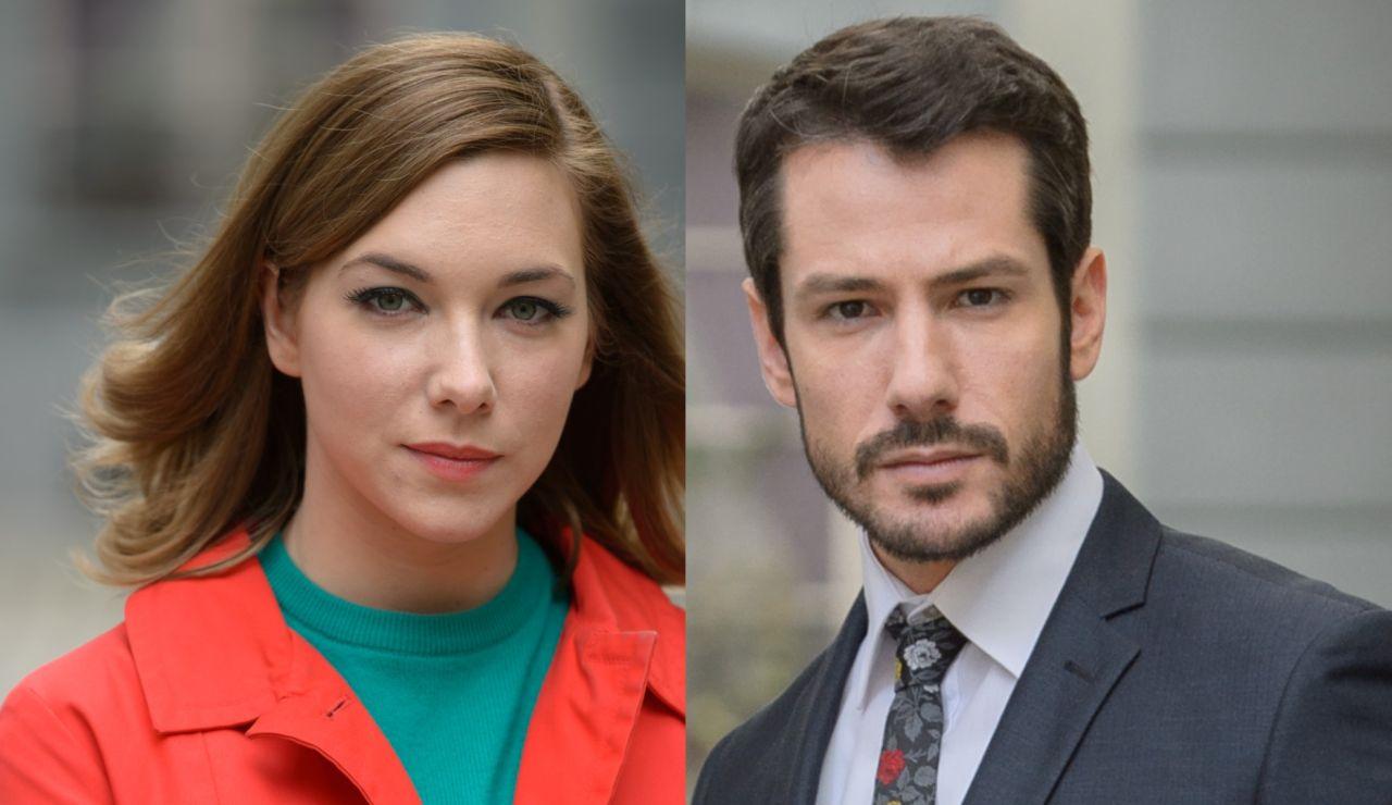 Natalia Rodríguez y Alejandro Albarracín