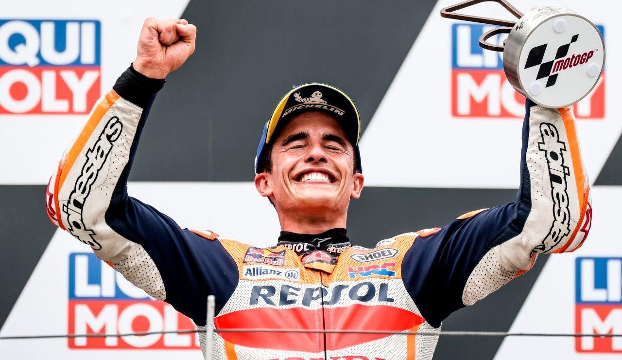 Marc Márquez gana el GP de Alemania y consigue su primera victoria en Moto GP 19 meses después