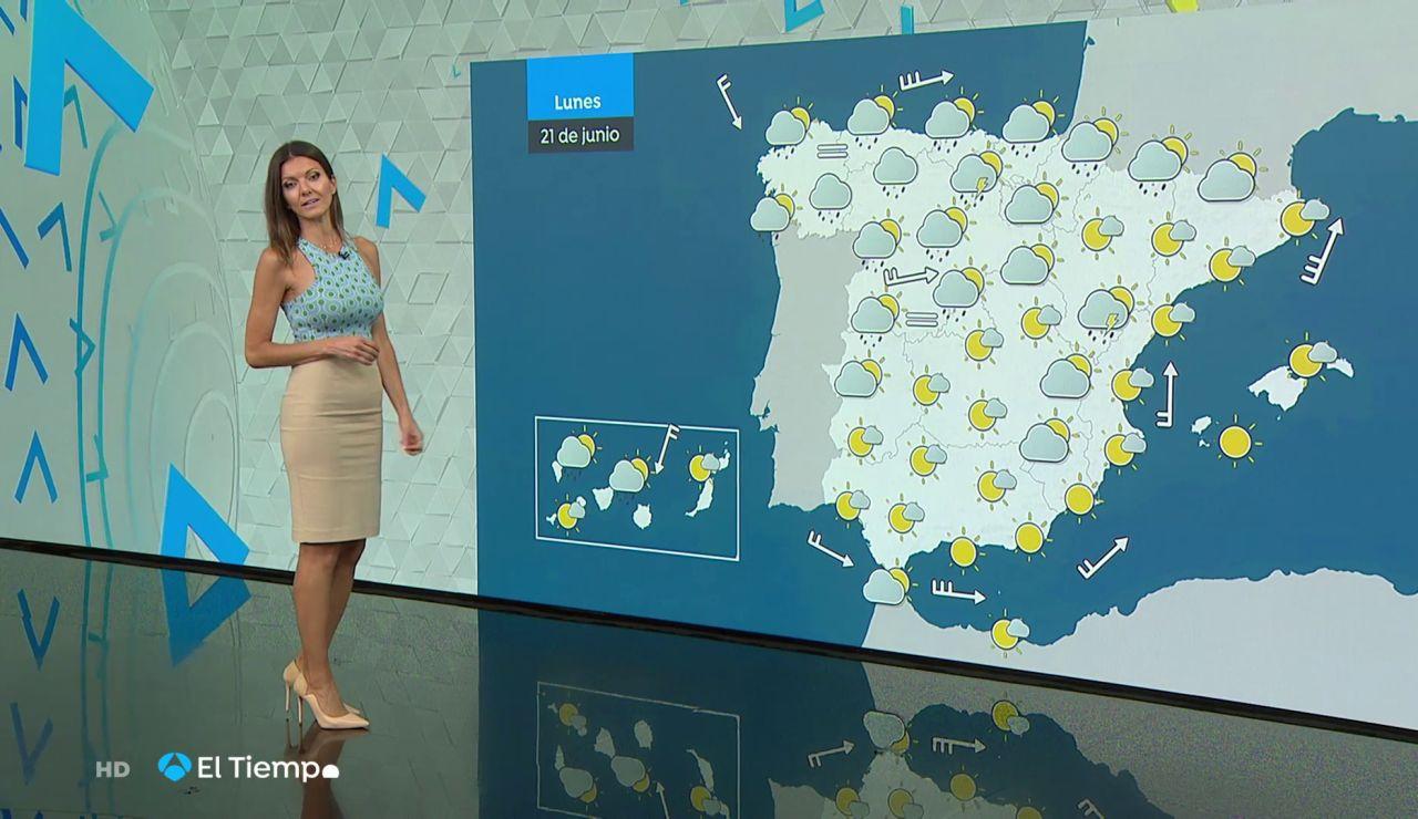Tu Tiempo (20-06-21) Fuertes precipitaciones en Pirineos y Galicia