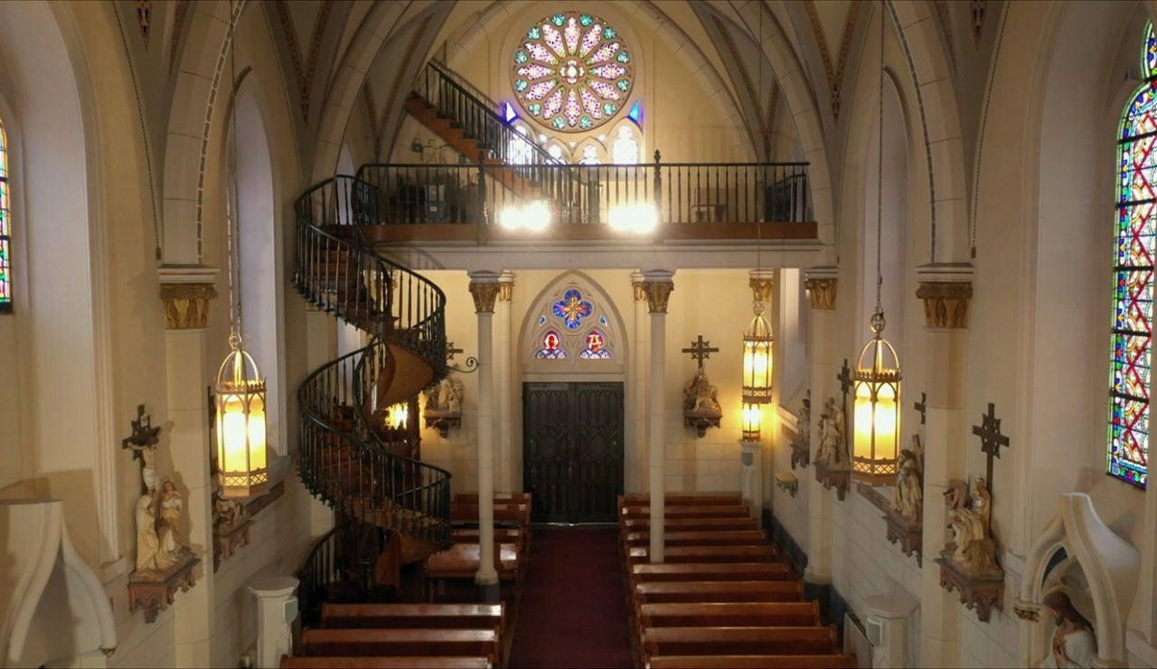 La misteriosa escalera de Loreto