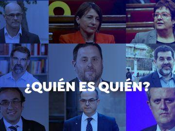 Quién es quién en el indulto del Gobierno a los presos del 'procés'