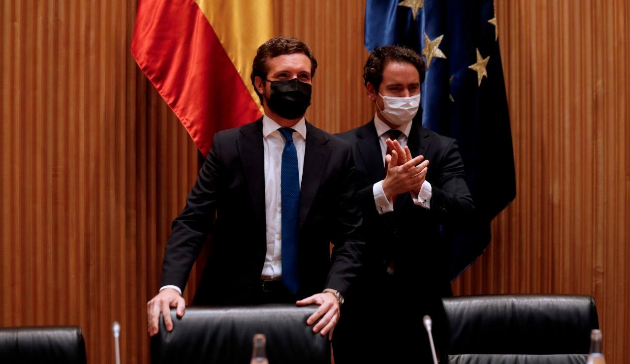 """Pablo Casado acusa a Pedro Sánchez de dar un """"golpe de gracia a la legalidad con indultos"""""""