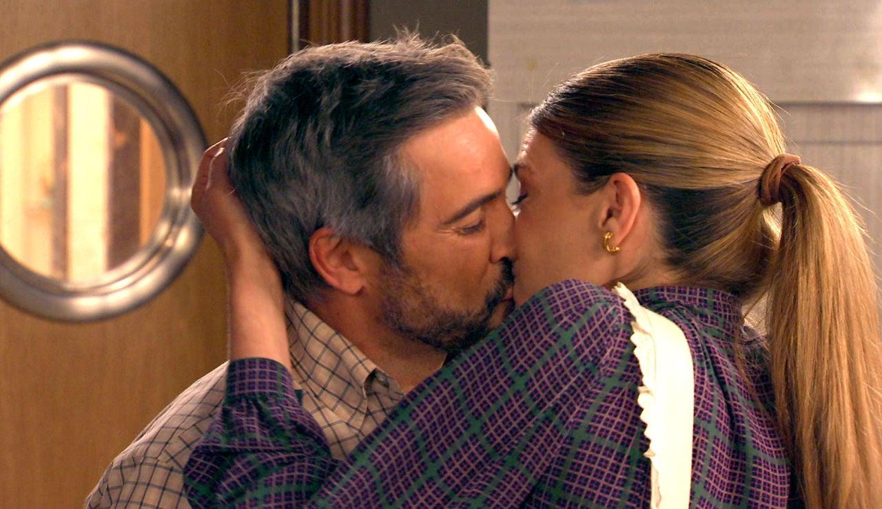 El romance entre Maica y Gorka deja de ser secreto: ¡son sorprendidos en un momento apasionado!