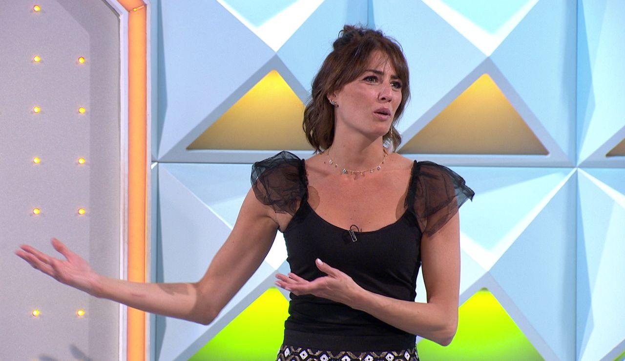 Laura Moure muestra su rechazo a una demandada verdura en 'La ruleta de la suerte'