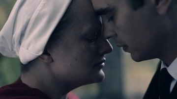 June y Nick en 'El cuento de la criada'