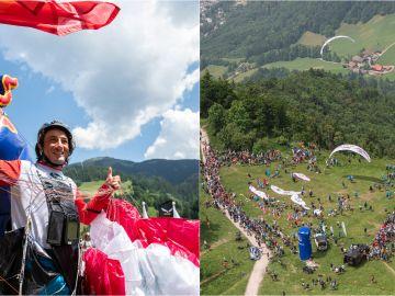 La Red Bull X-Alps, la carrera de parapente más dura del mundo que se ha celebrado en los Alpes