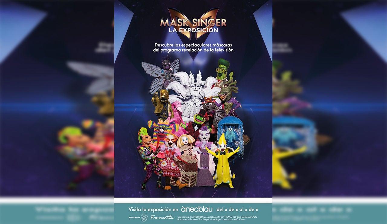 La exposición 'Mask Singer' desembarca este verano en algunos de los principales centros comerciales de España