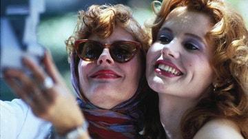 Geena Davis y Susan Sarandon en 'Thelma y Louise'