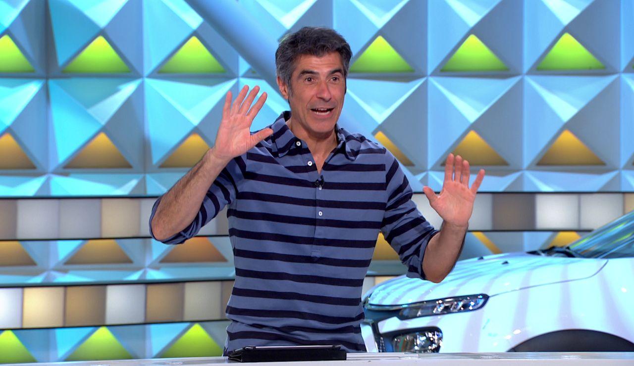 """¡Jorge Fernández la lía! El presentador tira el pinganillo a la ruleta: """"No quiero saber nada de vosotros"""""""