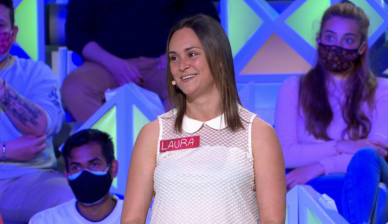 ¡Una campeona del mundo en 'La ruleta de la suerte'! Laura desvela su gran logro
