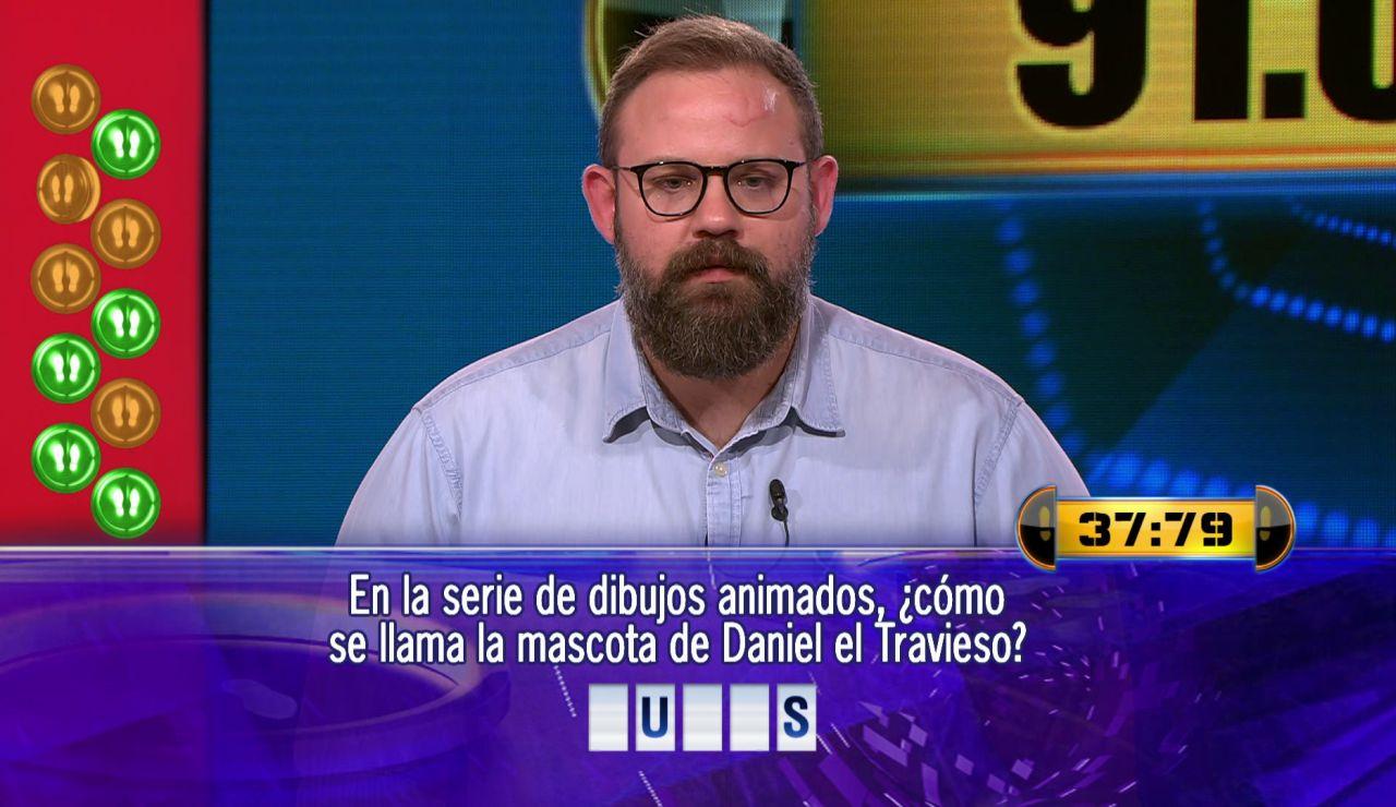 ¿Hace doblete? Jolís juega por 91.000 euros su Duelo Final más complicado en '¡Ahora caigo!'