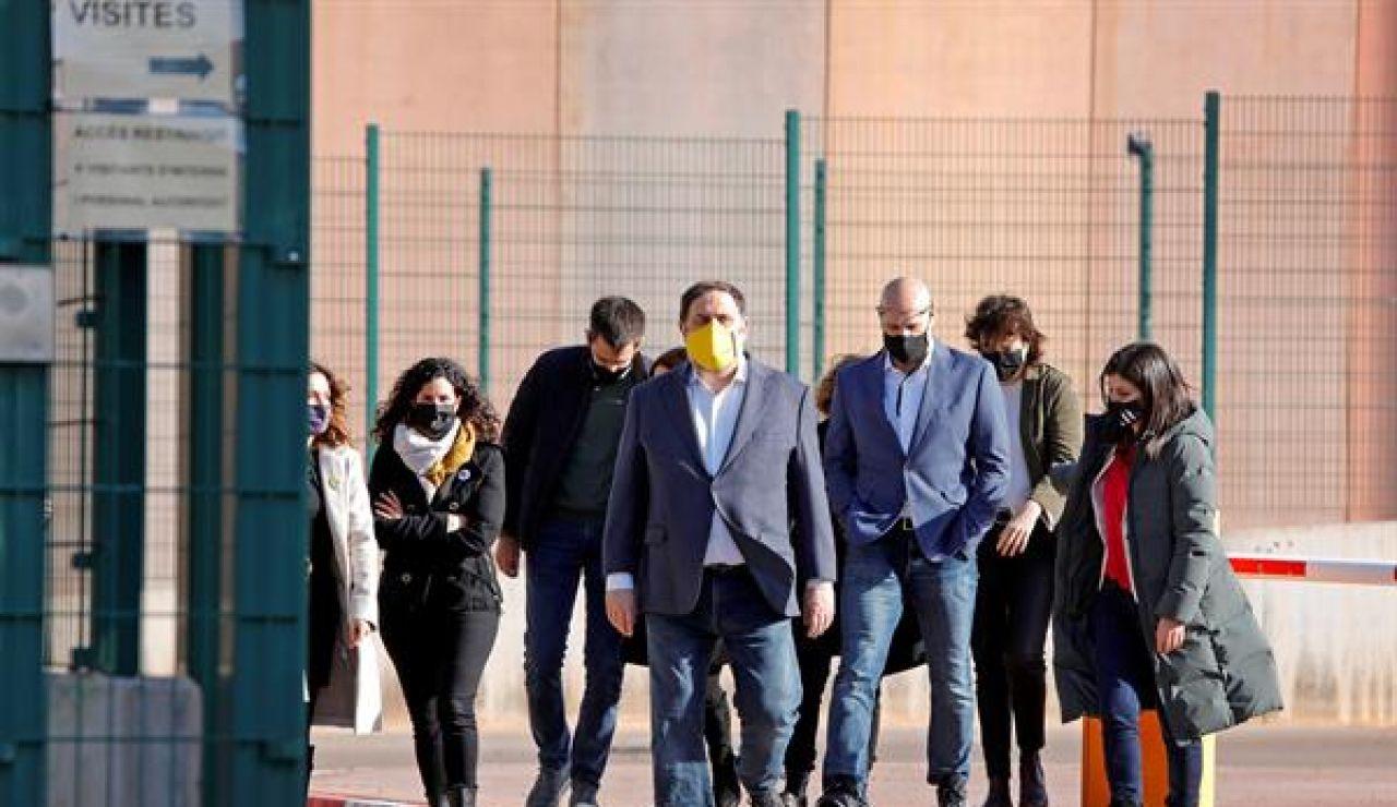 Oriol Junqueras y otros 6 presos del procés