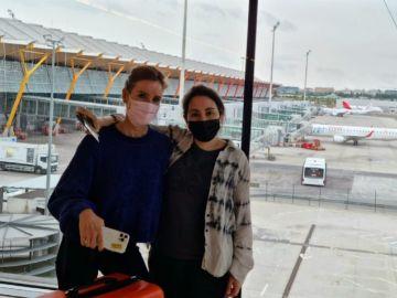 La princesa Latifa de Dubái reaparece en el aeropuerto Barajas de Madrid tras su llamada de auxilio