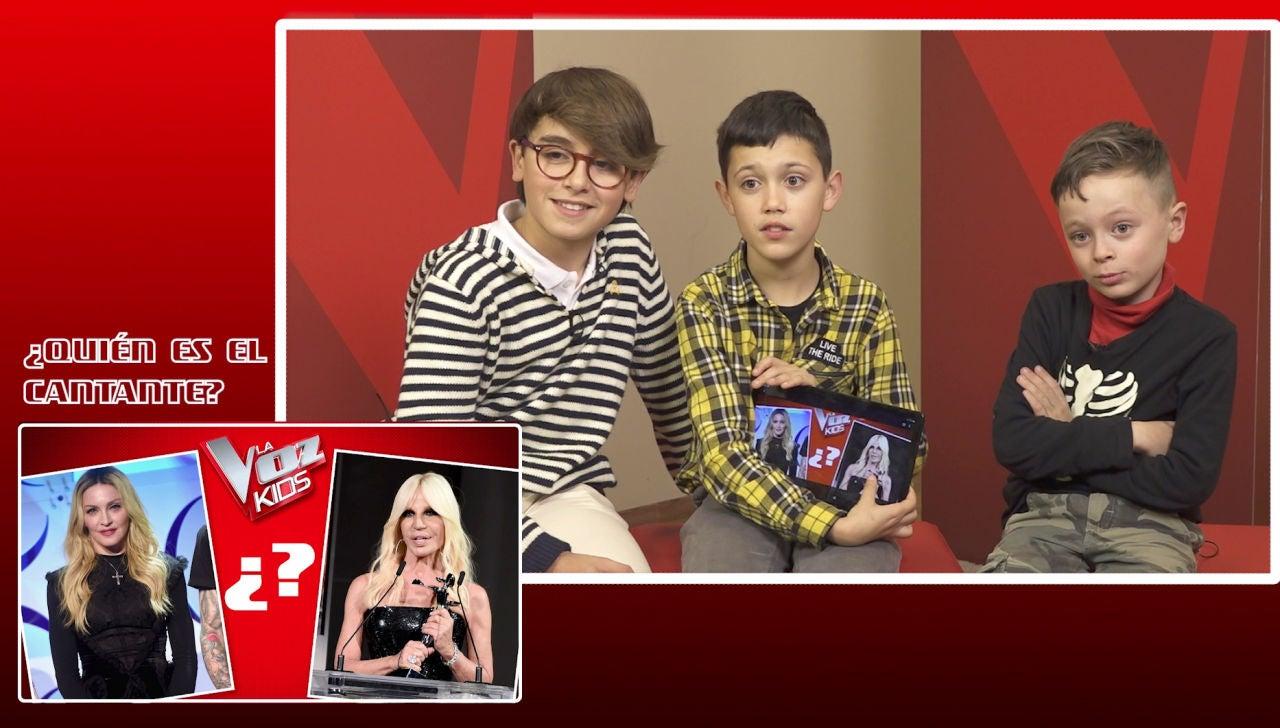 Los niños de 'La Voz Kids' se enfrentan a '¿Quién es el cantante?': dilemas, chistes y grandes confusiones