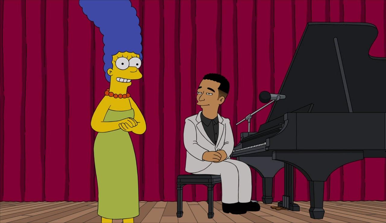 Marge y John Legend