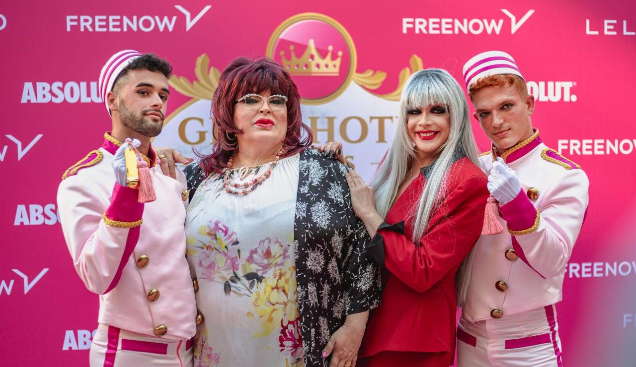 Rueda de prensa de presentación de 'Gran Hotel de las Reinas'