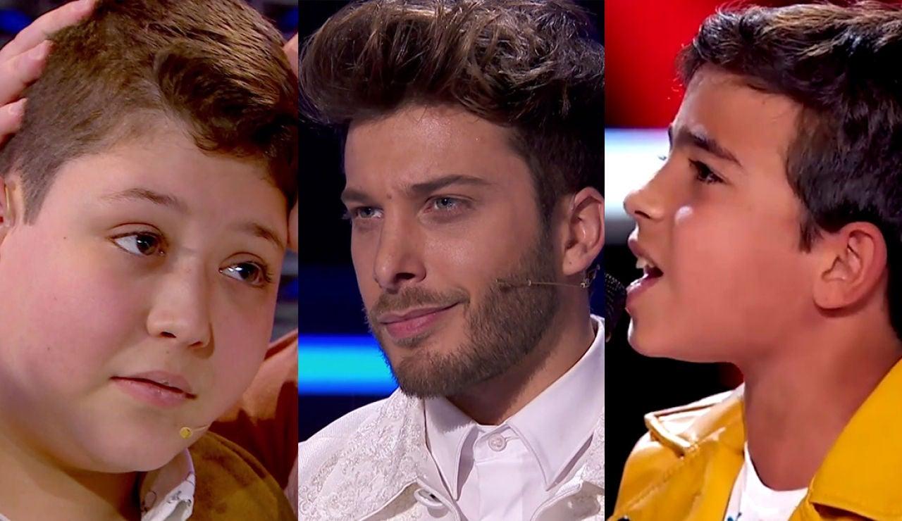 El TOP 5 de las segundas Batallas de 'La Voz Kids': los más pequeños despiertan las emociones de los coaches