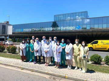 Primer 'corazón mecánico' implantado en el Hospital Clínico de Santiago de Compostela