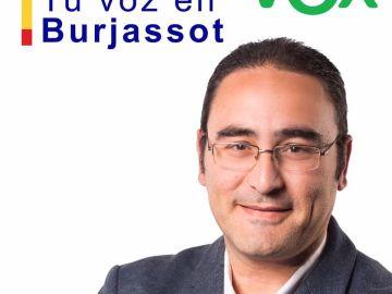 El concejal de Vox en Burjassot reconoce ser homosexual durante un pleno municipal